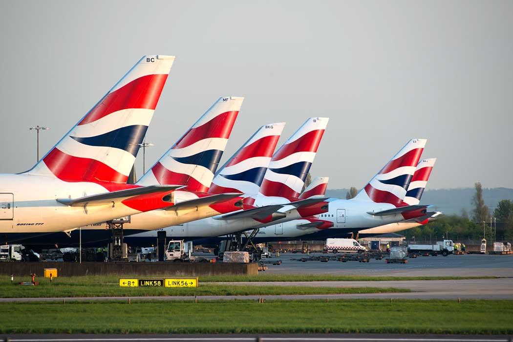 British Airways planes at London Heathrow terminal 5 (photo cedarjet201 from Pixabay)