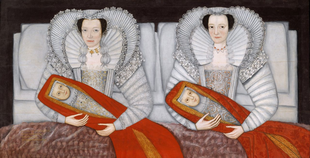 The Cholmondeley Ladies (circa 1600–1610) in the Tate Britain