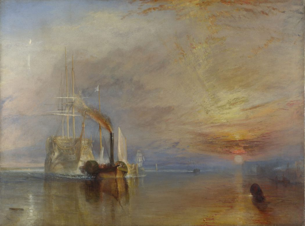 The Fighting Temeraire (1839) by Joseph Mallord William Turner