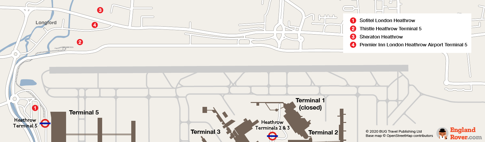 Heathrow Airport Terminal 5 hotels