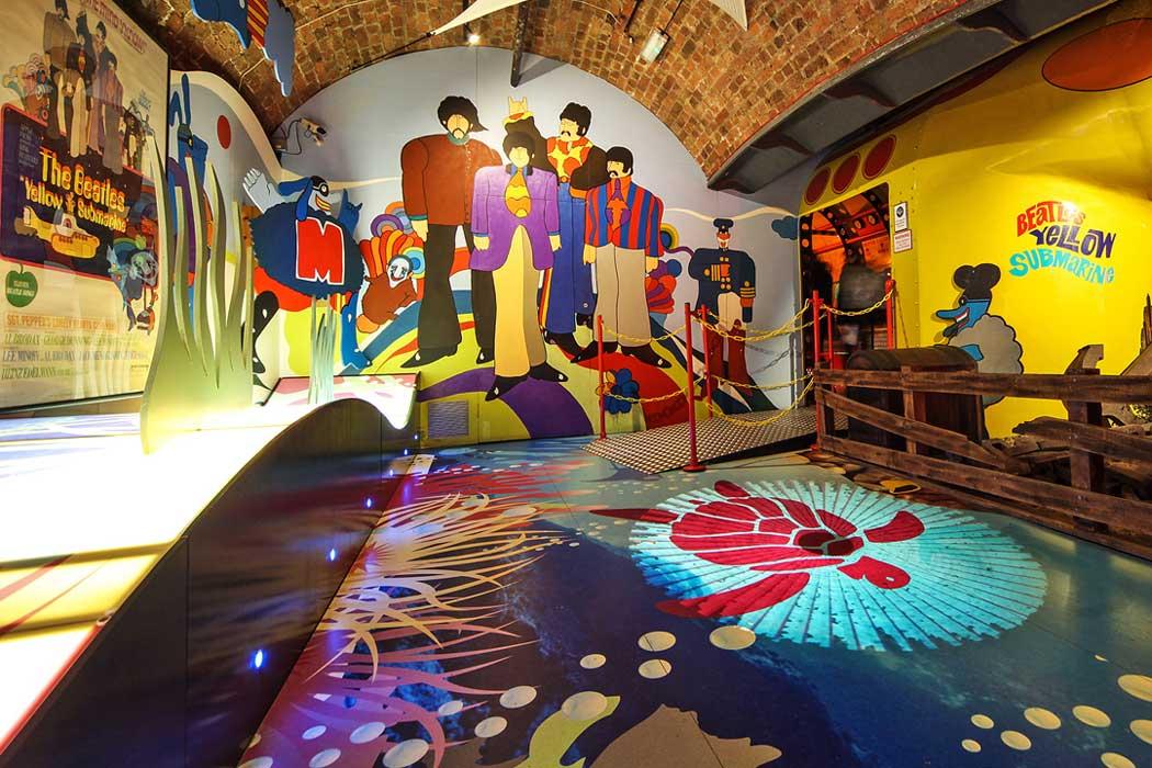 Inside The Beatles Story at Albert Dock in Liverpool. (Photo © VisitBritain).