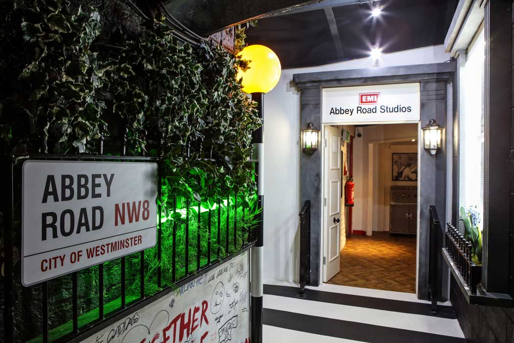 A replica of the entrance to the Abbey Road studios in London at The Beatles Story in Liverpool. (Photo © The Beatles Story, Liverpool).