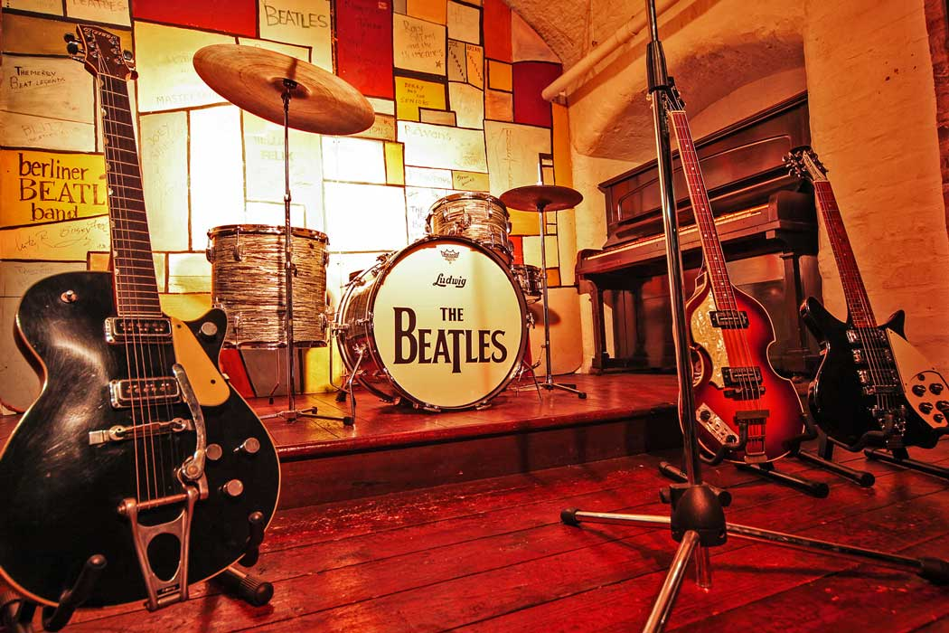 A replica of the Cavern Club at The Beatles Story exhibition at Albert Dock in Liverpool. (Photo © The Beatles Story, Liverpool).