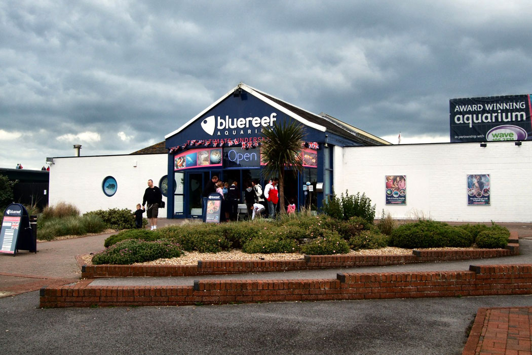 The Southsea Blue Reef Aquarium in Portsmouth, Hampshire (Photo: Paul Gillett [CC BY-SA 2.0])