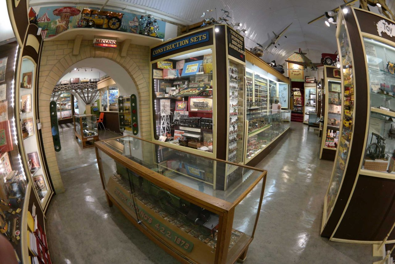 Inside the Brighton Toy and Model Museum in Brighton, East Sussex (Photo: Eric Baird [CC BY-SA 3.0])
