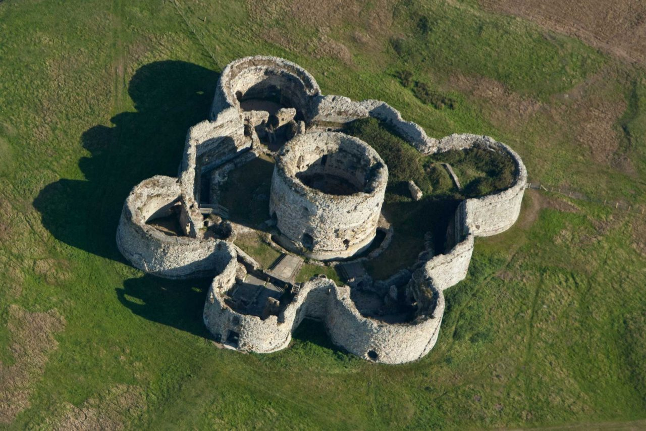 Camber Castle near Rye, East Sussex (Photo: Barbara van Cleve [CC BY-SA 4.0])