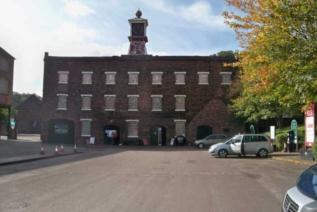 The Coalbrookdale Museum of Iron in Ironbridge Gorge near Telford, Shropshire (Photo: Colin Babb [CC BY-SA 2.0])