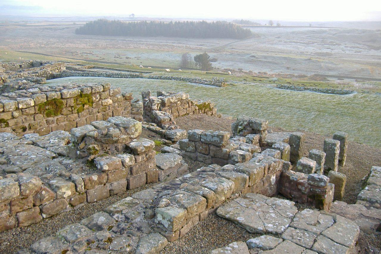 Housesteads Roman Fort near Bardon Mill (Photo: Craig Booth [CC BY-SA 2.0])