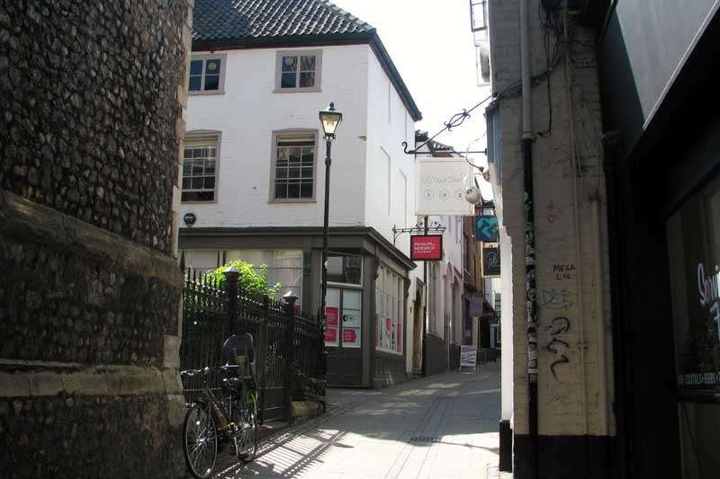 Museum of Norwich at the Bridewell in Norwich, Norfolk (Photo: Evelyn Simak [CC BY-SA 2.0])