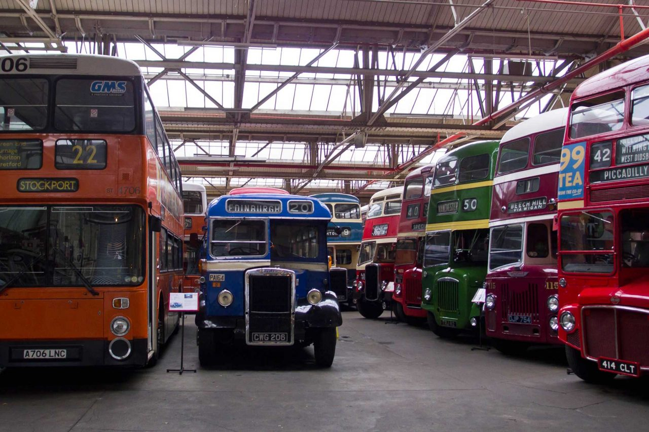 Museum of Transport, Greater Manchester (Photo: Ed Webster [CC BY-SA 2.0], from Flickr)