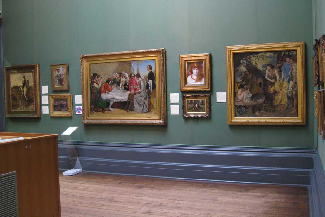 Part of the Pre-Raphaelite collection at the Walker Art Gallery in Liverpool