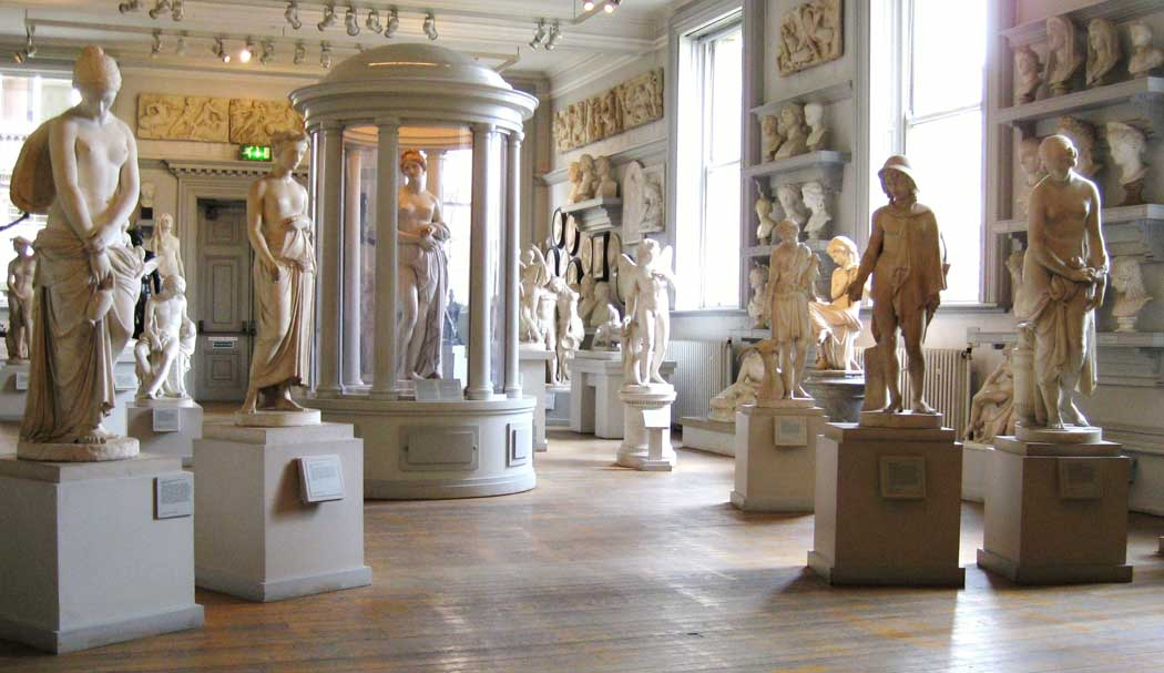 The sculpture gallery at the Walker Art Gallery in Liverpool