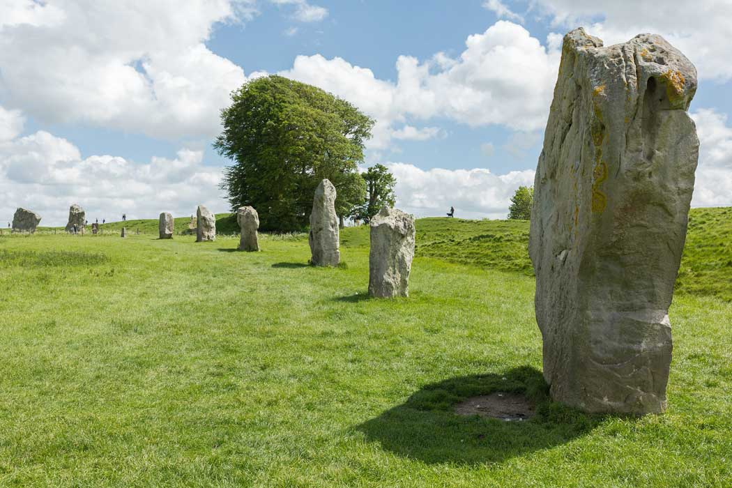 Part of Avebury's South Inner Circle. (Photo by David Iliff. Licence: [CC BY-SA 3.0])