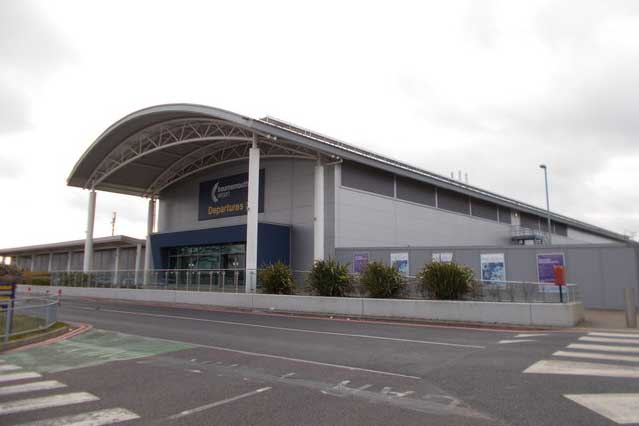 Bournemouth Airport in Bournemouth, Dorset (Photo: Chris Downer [CC BY-SA 2.0])