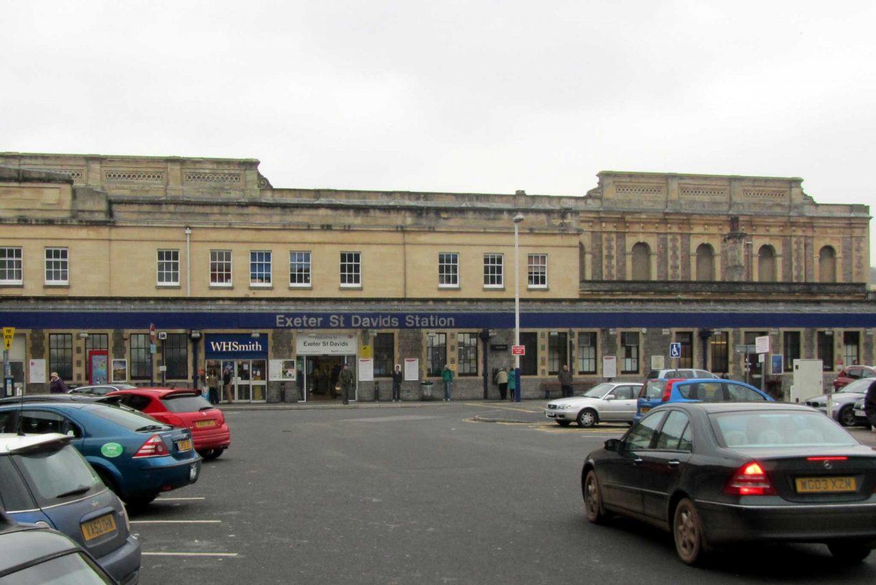 Exeter St Davids Railway Station Exeter
