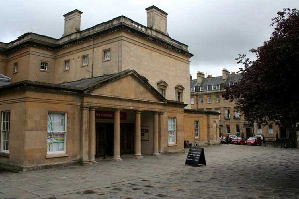 The Fashion Museum is located in the basement of the Grade I listed Bath Assembly Rooms. (Photo: Mark Anderson [CC BY-SA 2.0])