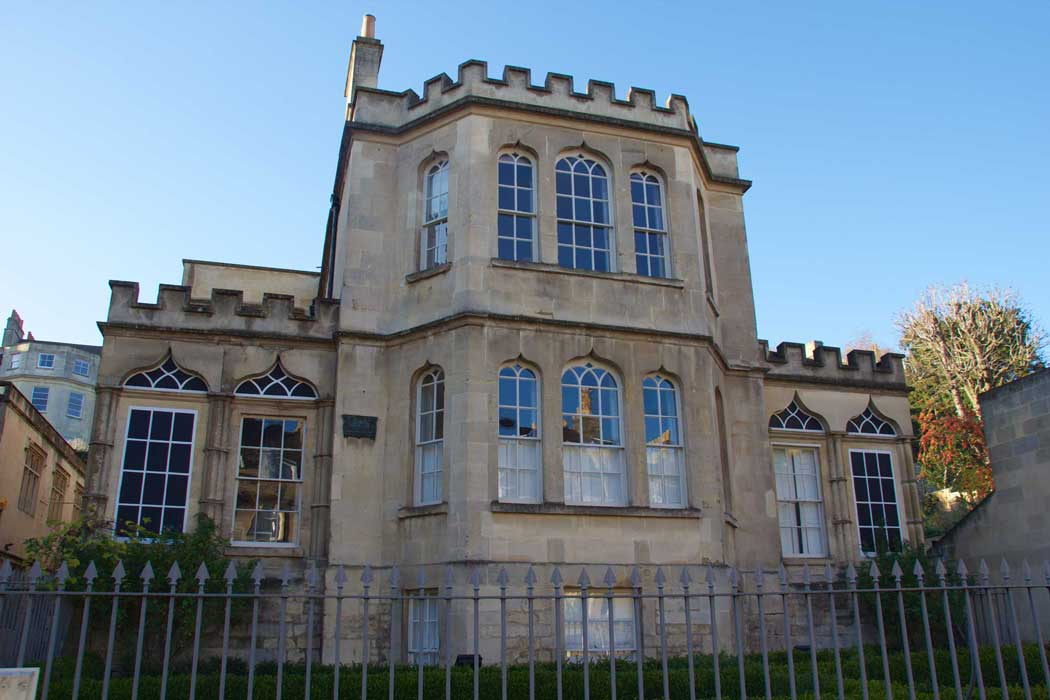 The Museum of Bath Architecture is housed inside the Grade II* listed Countess of Huntingdon's Chapel at the northern end of Bath's city centre. (Photo: Mike Peel [CC BY-SA 4.0])