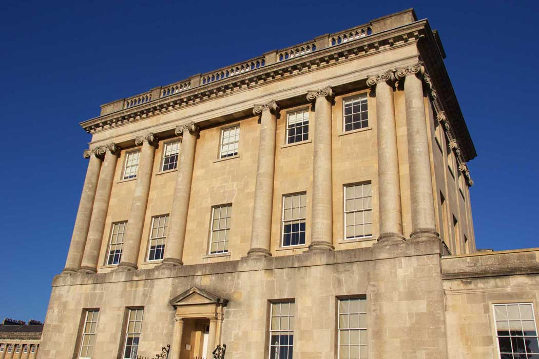 No. 1 Royal Crescent is the most easterly of the townhouses on Royal Crescent. It has been restored to show how the house would have appeared in the 18th century.