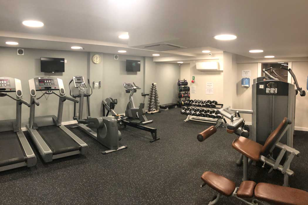 Guests have complimentary use of the hotel's fitness centre. (Photo: IHG)