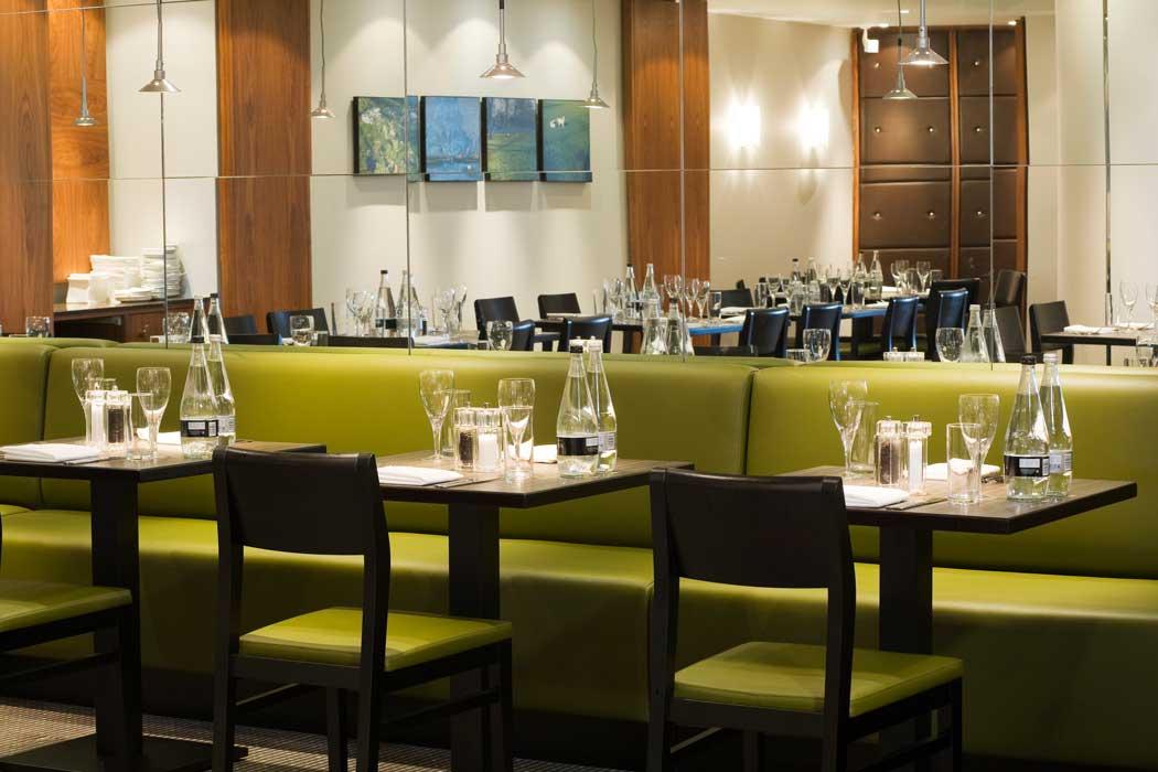 Inside the hotel's restaurant. (Photo: IHG)