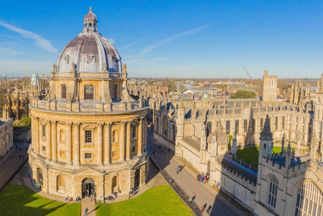 Visiting the University of Oxford