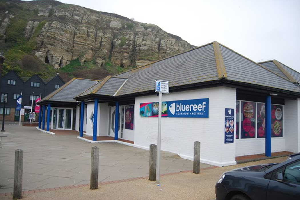The Blue Reef Aquarium is at the eastern end of Rock-A-Nore Road in the Old Town area of Hastings (Photo: N Chadwick [CC BY-SA 2.0])