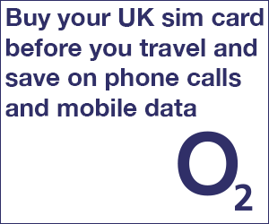 Buy your UK SIM card before you travel and save on phone calls and mobile data