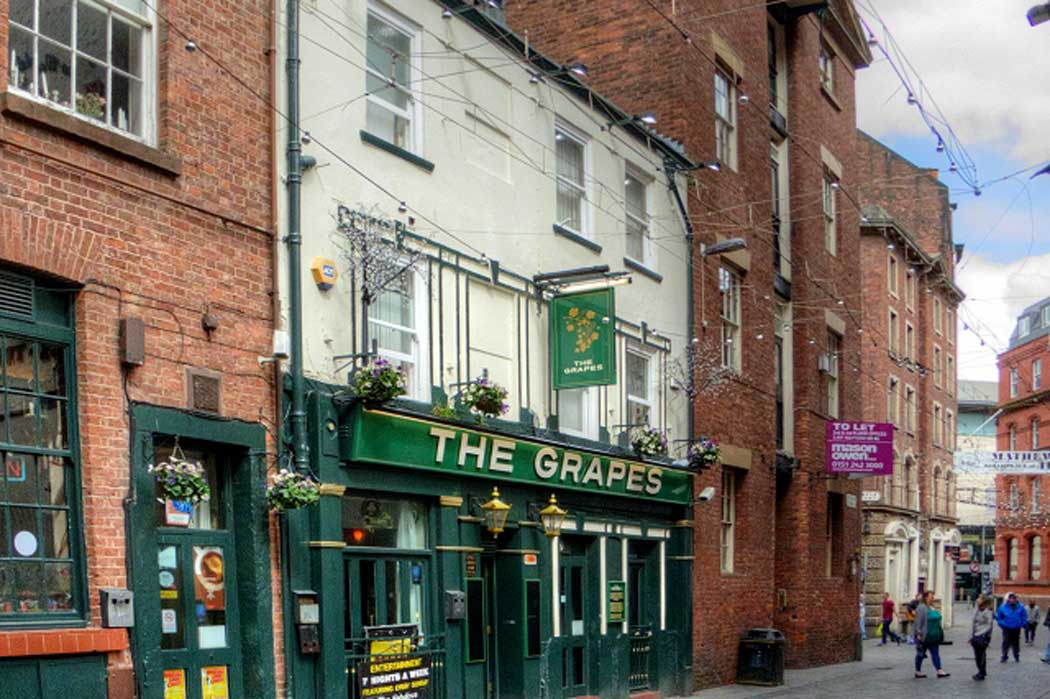 The Magical Beatles Museum is on Mathew Street right next door to The Grapes, the pub the Beatles used in drink in before and after gigs at the Cavern Club. (Photo: David Dixon [CC BY-SA 2.0])
