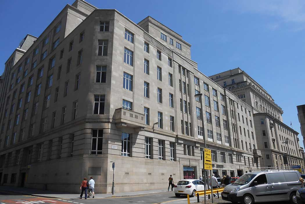 During the Second World War, a secret war command centre inside this building in central Liverpool was responsible for combating German U-boats and protecting Atlantic convoys during the Battle of the Atlantic. (Photo: Rept0n1x [CC BY-SA 3.0])
