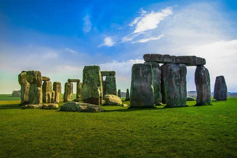 Amsbury and Stonehenge in Wiltshire