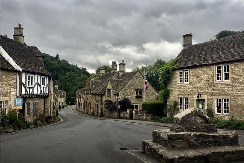 Chippenham, Lacock and Castle Combe in Wiltshire