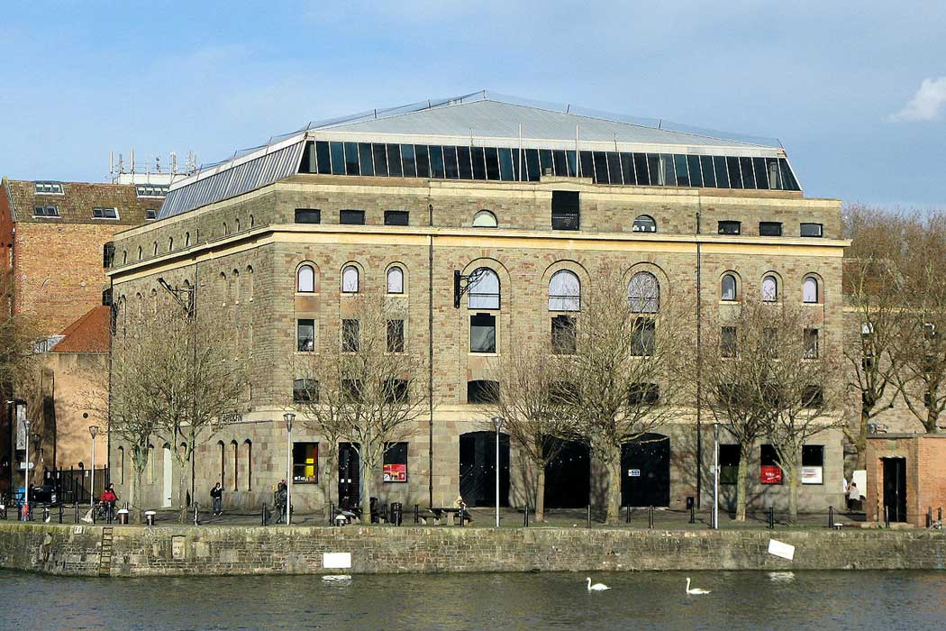 The Arnolfini art gallery has a great location on Bristol's historic waterfront. It is host to a programme of temporary exhibitions with an emphasis on avant-garde contemporary art.