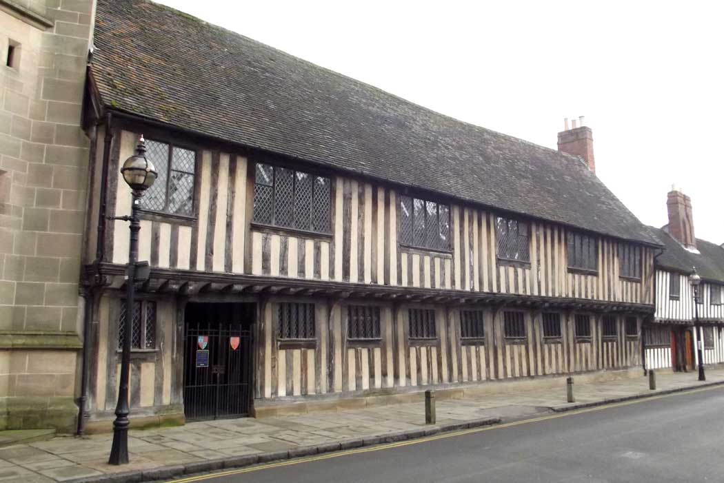 William Shakespeare went to school in this 15th-century building near the centre of Stratford-upon-Avon. (Photo: Elliott Brown [CC BY-SA 2.0])