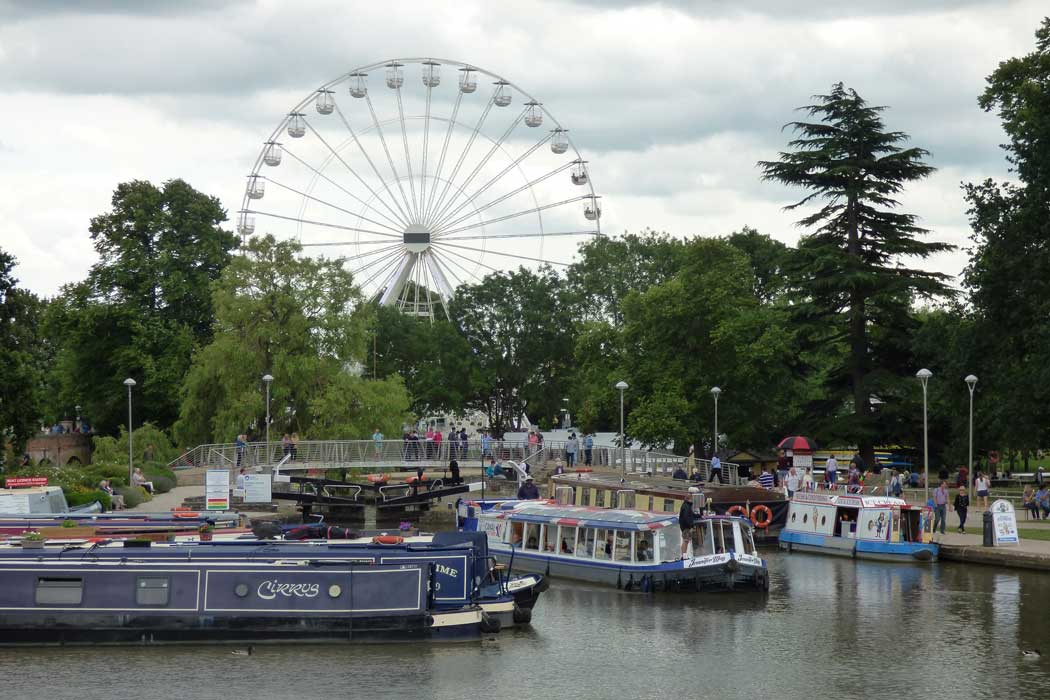 The Stratford Big Wheel offers excellent views of Stratford-upon-Avon and the surrounding area. (Photo: Elliott Brown [CC BY-NC-SA 2.0])