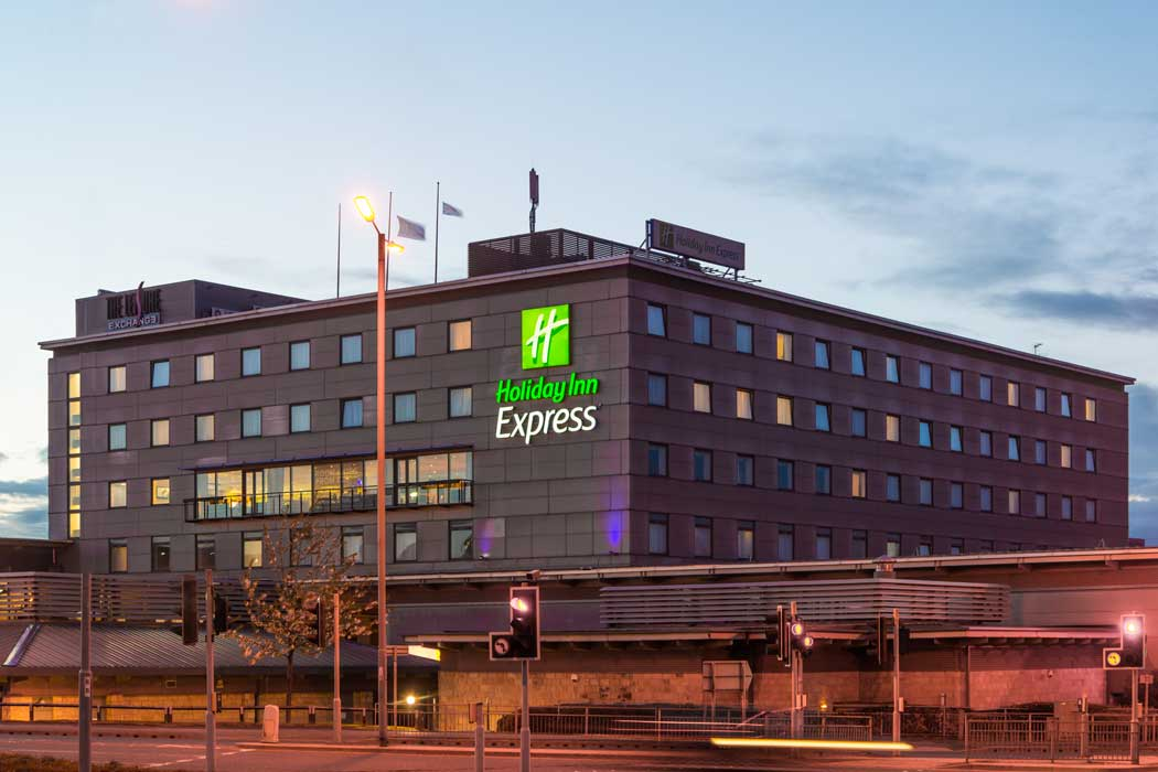 The Holiday Inn Express Bradford City Centre is a good value accommodation option that is very close to Bradford Interchange station. (Photo: IHG)