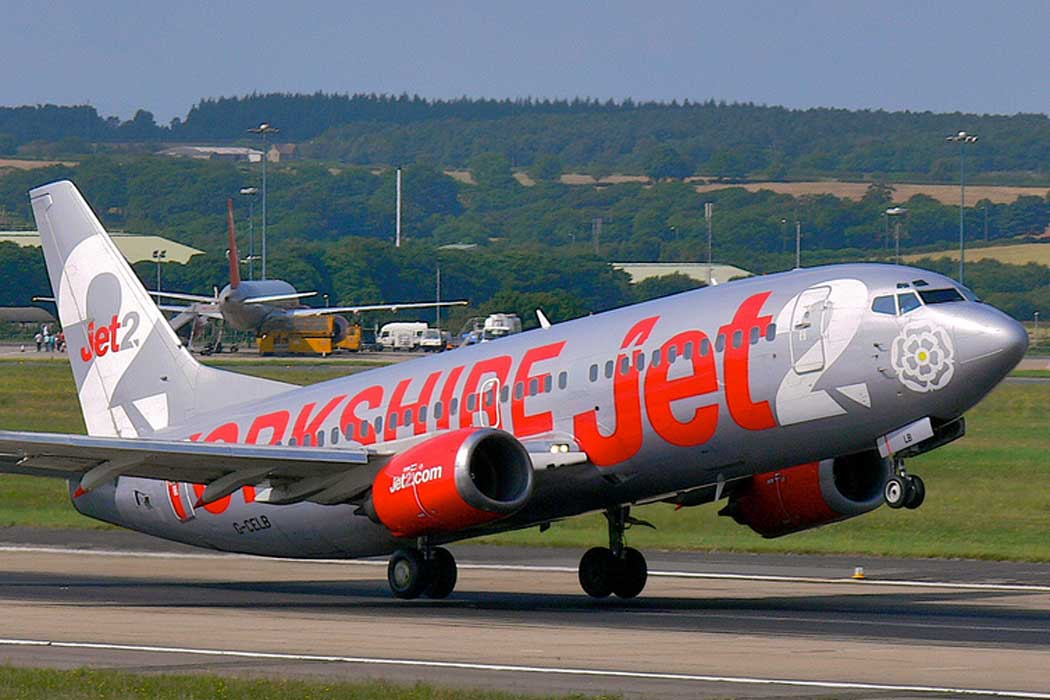 Budget airline Jet2 is based at Leeds Bradford Airport. (Photo: 54north [CC BY-SA 3.0])