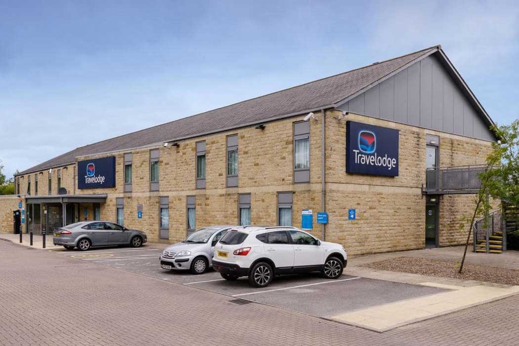 The Travelodge Leeds Bradford Airport is the closest hotel to Leeds Bradford Airport, which is a six-minute walk away. (Photo © Travelodge)