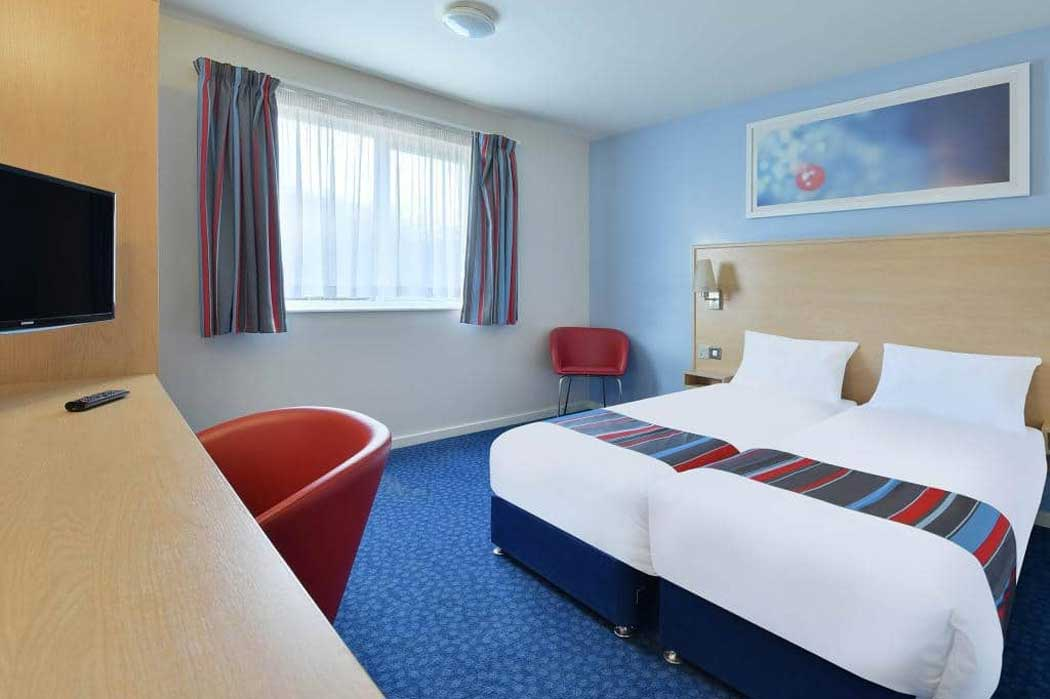 A twin room. (Photo © Travelodge)