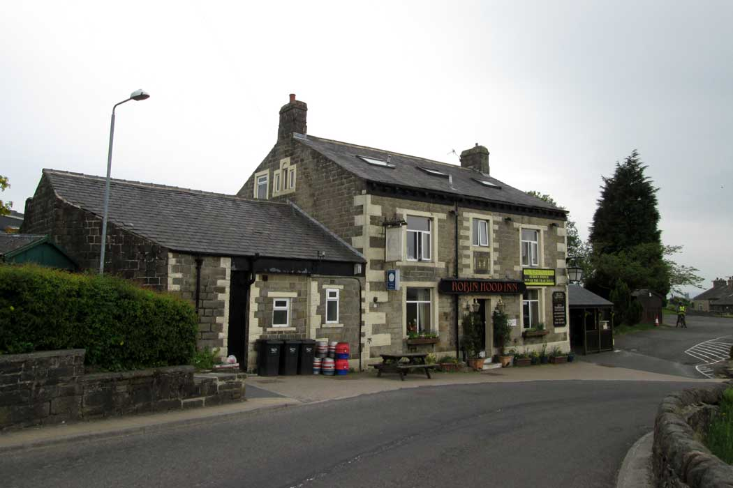 The Robin Hood Inn is a village pub that offers accommodation in five rooms. It is a good option if you prefer to stay somewhere with a little more character than your average chain hotel. (Photo: John Slater [CC BY-SA 2.0])