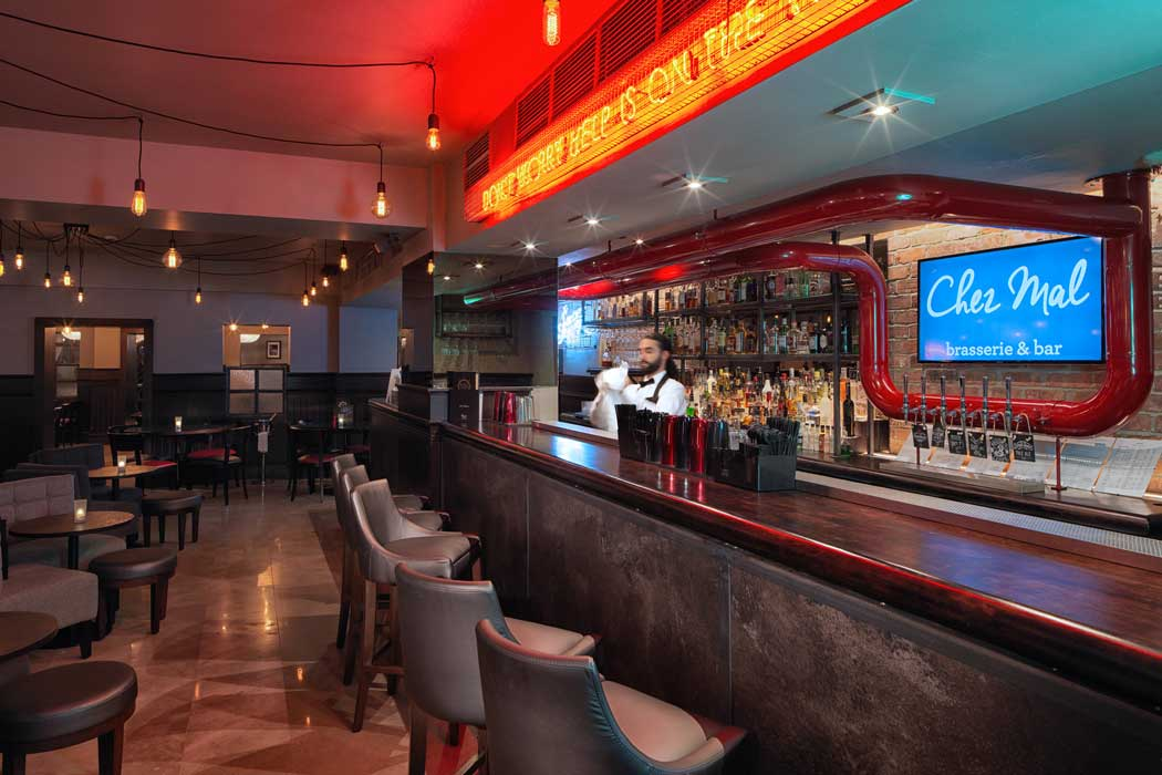The Chez Mal bar is a great spot to start a night out on the town.(Photo: Malmaison Hotels [CC BY-ND 2.0])
