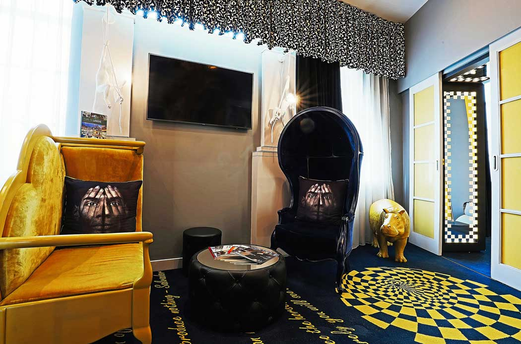 The quirky decor in the hotel's suites is not to everyone's taste. (Photo: Malmaison Hotels [CC BY-ND 2.0])