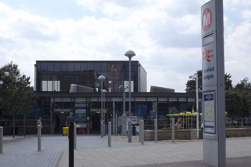 Wakefield Westgate railway station is the busier of Wakefield's two main railway stations. (Photo: Ian Kirk [CC BY-SA 4.0])