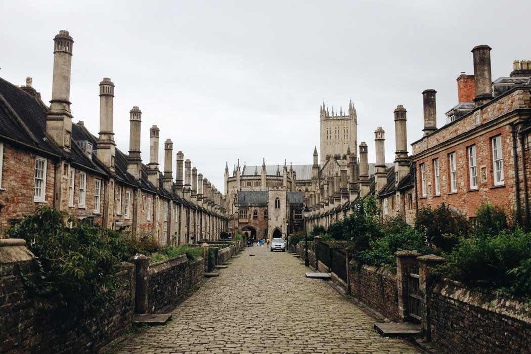 Vicars' Close is considered the oldest residential street in Europe to still have its original buildings intact. Its width is tapered by 3m (10 ft) to appear longer when viewed from the cathedral end. (Photo by Amber Maxwell Boydell on Unsplash)